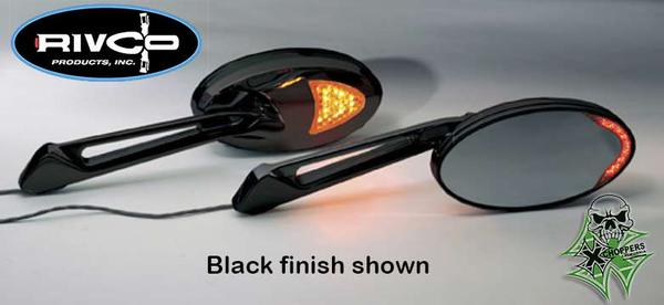 Xchoppers Com Rivco Custom Led Lighted Turn Signal