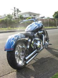 Brad DeMello - Kaneohe, Hawaii - Honda VTX 1800 C - X Sickles 200 Fender w/ LED Option