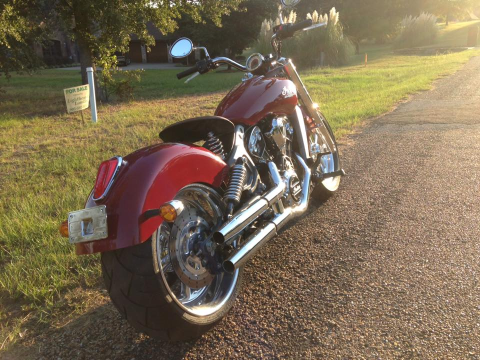 Slideshow for Xchoppers Indian Scout