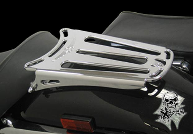 Custom World Intl. Billet Solo Rack - Honda VTX 1300/1800