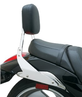 "COBRA STANDARD HEIGHT (17"" tall) BACKREST FOR SUZUKI M109"