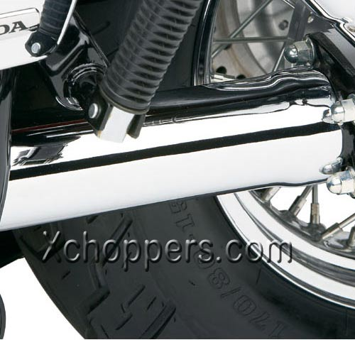 Cobra Chrome Driveshaft Cover for Suzuki C109R