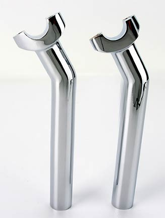 25% OFF - 8.5 in. Chrome Risers with 1 1/4 in. Pullback
