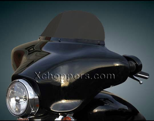 "Windshield - 8"" Dark Smoke  fits Airmaster & Klock Werks Fairing"