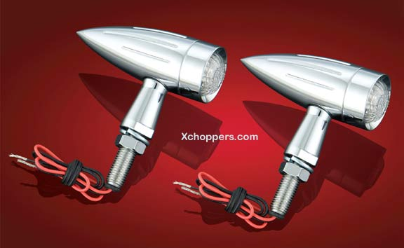 Big Bike Parts LED Torpedo Lights (pair)