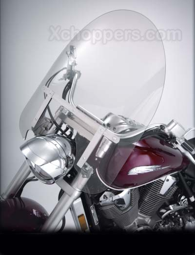 "Big Bike Parts 22"" CLASSIC WINDSHIELD - CLEAR - VTX 1800"