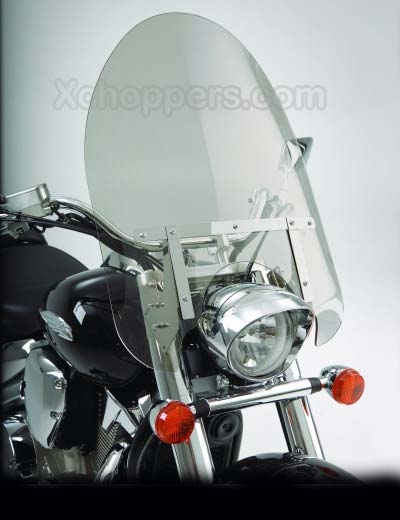 "Big Bike Parts - 22"" CLASSIC WINDSHIELD - TINTED - VTX 1300 C"