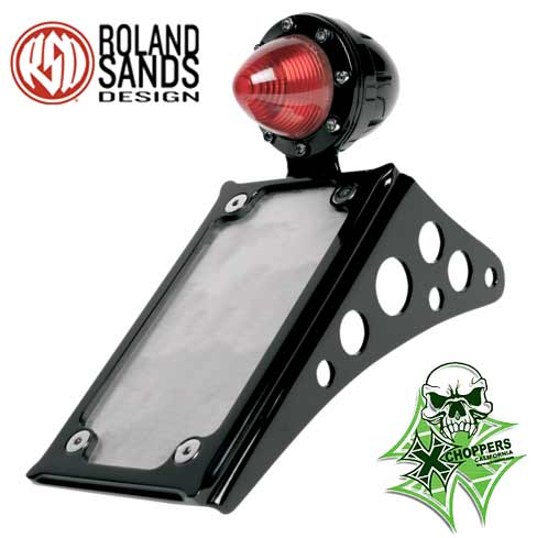 Roland Sands Design Tag Bracket - Black