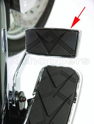 Big Bike Parts Brake Pedal Cover - VTX 1300 & 1800 R/S/T/N 2002+