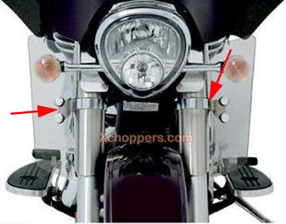 Memphis Shades Fork Deflector Mounting Kit