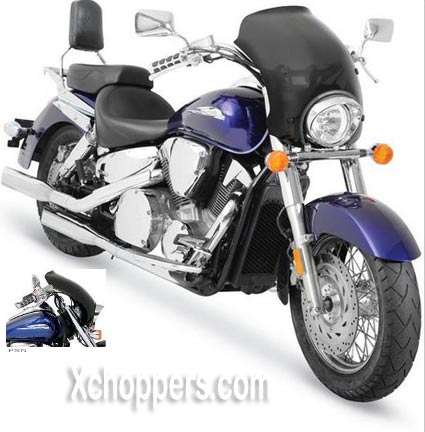 Memphis Shades Bullet Fairing - VTX1300C with Exposed Forks