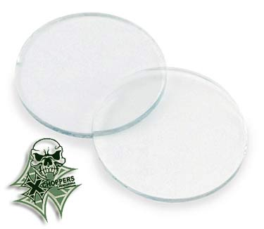 Kuryakyn Clear Lenses for Kuryakyn Small Silver Bullets (pair)