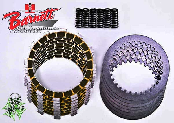 Barnett Carbon Fiber Performance Clutch Kit - VTX 1800 (all)