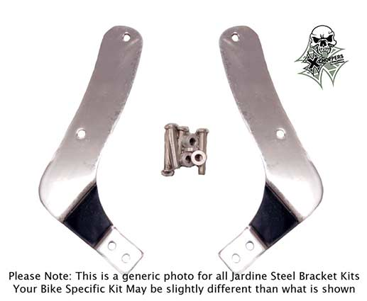Jardine Steel Bracket Kit - Suzuki M109R/2 (06 and newer)