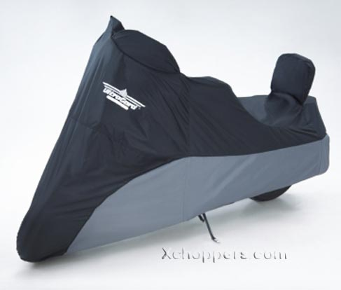 Big Bike Parts ULTRAGARD LARGE CRUISER COVER Black Over Charcoal