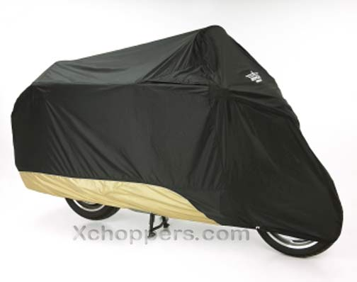 Big Bike Parts ULTRAGARD TOURING COVER Black over Gold