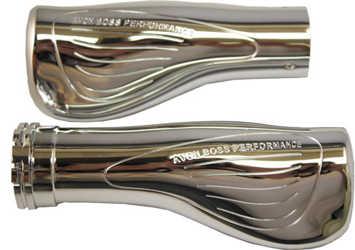 Avon Grips  BOSS PERFORMANCE GRIPS BILLET (CHROME)