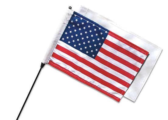 Antenna Mount Flag