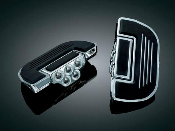 Kuryakyn Chrome Floorboards for Driver or Passenger