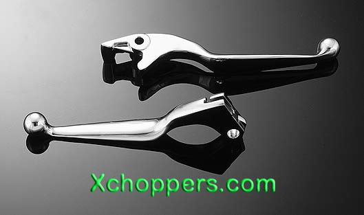 Highway Hawk Wide Levers Fit Honda Cruisers