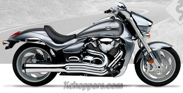 Hard Krome Chrome Velocity Pro for Suzuki M109