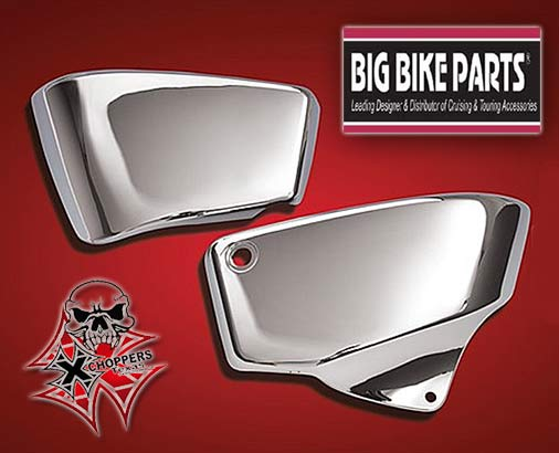 VT1100 CHROME SIDE COVERS VT1100 NOT SPIRIT
