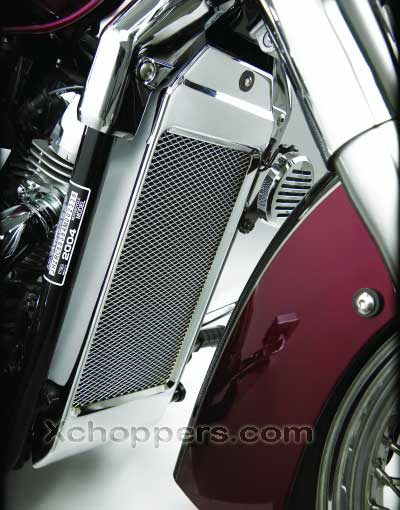 Big Bike Parts MESH RADIATOR GRILLE - VT750 AERO