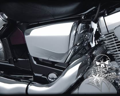Big Bike Parts Chrome Side Covers VT750 AERO Spirit C2 Phantom
