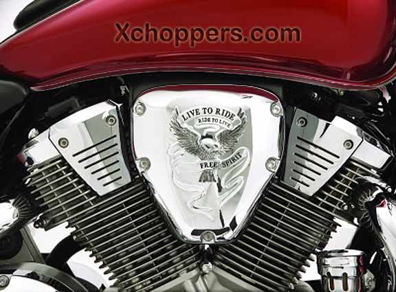 Big Bike Parts - VTX Air Cleaner Cover - VTX 1300 & 1800 (all)