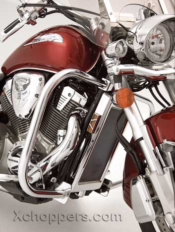 Big Bike Parts - Chrome Highway Bar - VTX 1800 R/S/N/T
