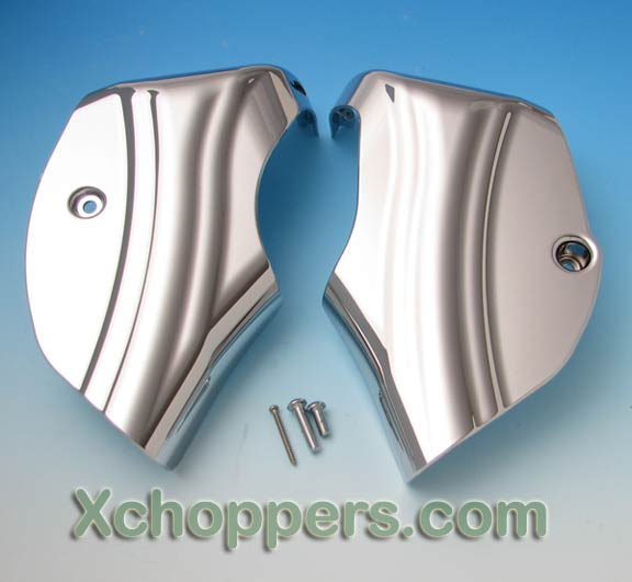 Big Bike Parts - Contoured Neck Covers For VTX 1800