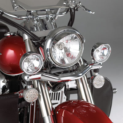 "Big Bike Parts - Driving Light Kit  w/3.5"" halogen lights - VTX"