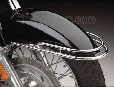 Big Bike Parts - Chrome Front Fender Rail - VTX 1800 N/R/S