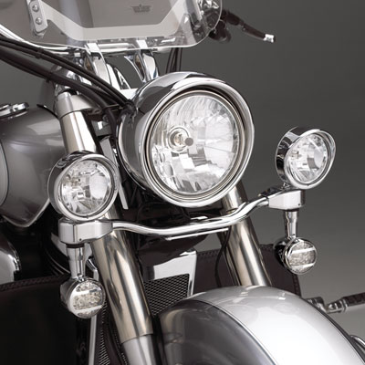 "Big Bike Parts Elliptical 55 Watt 3.5"" Halogen Lights - VTX"
