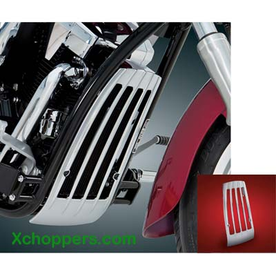Big Bike Parts Honda VT1300 Chrome ABS Radiator Grill
