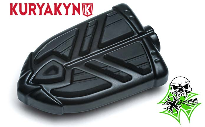 Kuryakyn Satin Black Spear Shift and Brake Peg (EA)