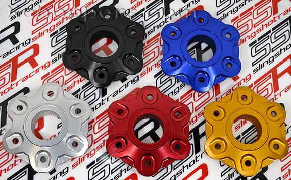 Ducati Diavel (and others) Anodized Rear Sprocket Flange Cover