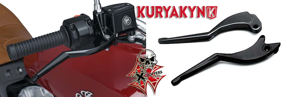 Kuryakyn Legacy Levers for '15-'16 Indian Scout, Black