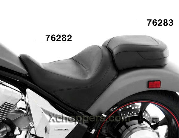 Mustang Vintage Wide Touring Solo Seat - Honda Fury