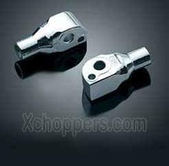Kuryakyn Footpeg Adapters for Rear Pegs (pr) - Suzuki M109R