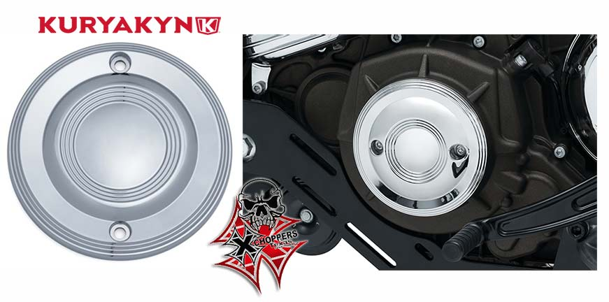 Kuryakyn Legacy Stator Cover for Indian Scout, Chrome