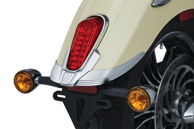 Kuryakyn Legacy Rear Fender Tip - Indian Scout
