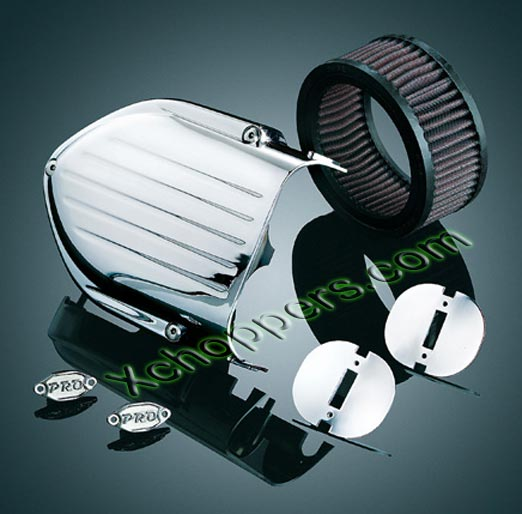 Kuryakyn Pro-Series Hypercharger Upgrade Kit, Chrome