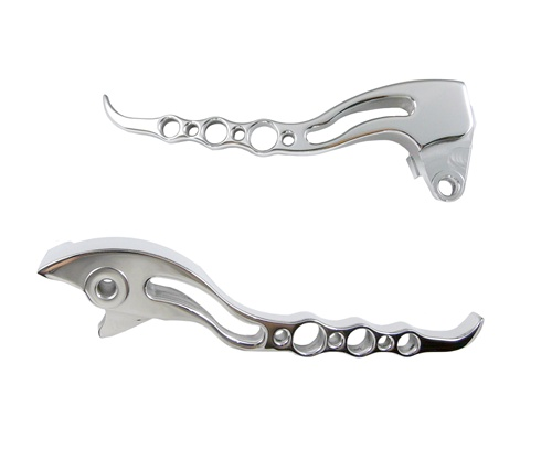 Yana Shiki M109 Chrome Sport Style Brake & Clutch Levers