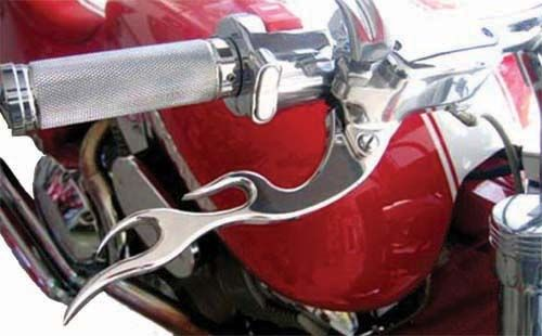 Aeromach Flame Levers - Honda VTX 1800 (all) and Valkyrie
