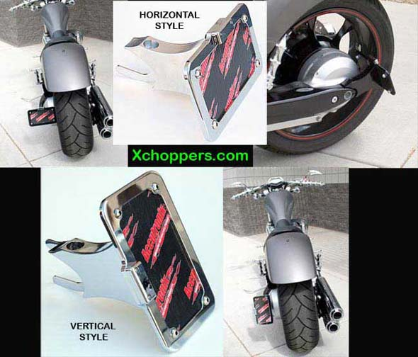 Accutronix License Plate Light & Sidemount for Honda Fury