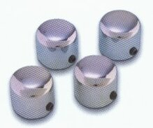 Big Bike Parts - Chrome  Nut Covers - VTX /Sabre/Spirit
