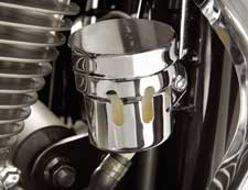 Big Bike Parts - Chrome Rear Brake Reserv. Cover - VTX 1800 (all