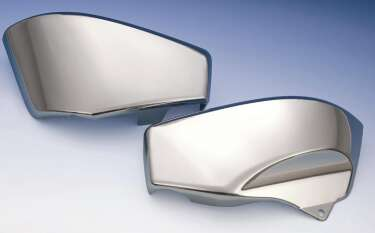 Big Bike Parts - Chrome Side Covers (Pair) - VTX 1800 R/S/F/N