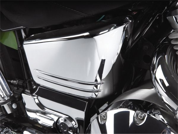 Big Bike Parts - Chrome Side Covers, pair - VTX 1800 C (all)